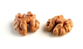 Hungarian bio crushed walnuts Royalty Free Stock Photo