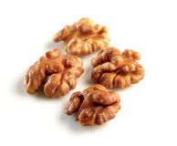 Hungarian bio crushed walnuts stock photography