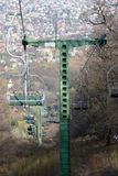 Hungarian Chair-lift. Zugligeti Chair-lift in Budapest , Hungary Stock Image
