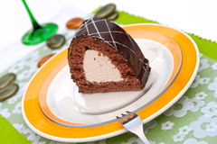 Hungarian chocolate cake Stock Photos
