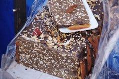 Hungarian Christmas cake Stock Photography