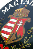 Hungarian coat of arms Stock Photo