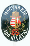 Hungarian coat of arms Royalty Free Stock Photo