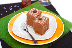Hungarian coffee dessert. Delicious coffee dessert from hungary Royalty Free Stock Images