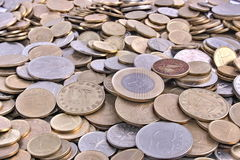Hungarian coins Royalty Free Stock Image