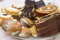 Hungarian cookies Royalty Free Stock Images