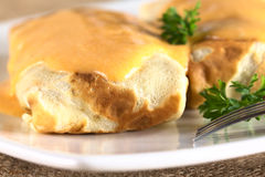 Hungarian Crepa a la Hortobagy Royalty Free Stock Images