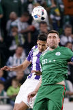 Hungarian Cup Final football match between Ujpest FC and Ferencvarosi TC Stock Photography