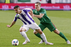 Hungarian Cup Final football match between Ujpest FC and Ferencvarosi TC Royalty Free Stock Photography