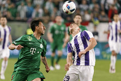 Hungarian Cup Final football match between Ujpest FC and Ferencvarosi TC Stock Image