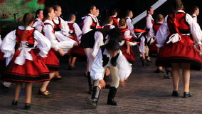 Hungarian dance stock video footage