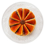 Hungarian Dobos torte - cake Royalty Free Stock Images