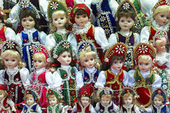 Hungarian dolls Royalty Free Stock Image