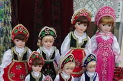 Hungarian Dolls Royalty Free Stock Photography