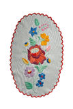Hungarian embroidery Stock Photo