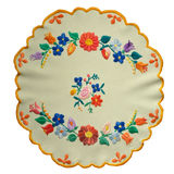 Hungarian embroidery Stock Images