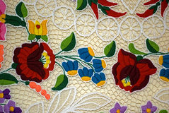 Hungarian embroidery Royalty Free Stock Image