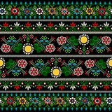 Hungarian embroidery pattern Stock Photography