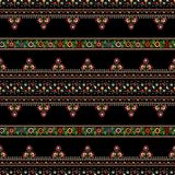 Hungarian embroidery pattern Royalty Free Stock Photo
