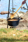 Hungarian fish soup Stock Image