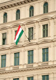 Hungarian flag Stock Photography