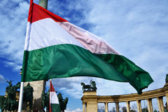 Hungarian flag Royalty Free Stock Image