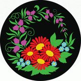 Hungarian folk art Stock Image