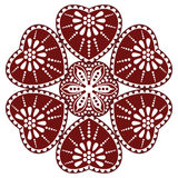 Hungarian folk ornament Royalty Free Stock Images