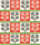 Hungarian folk pattern Stock Photo
