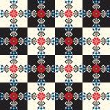Hungarian folk pattern Stock Image