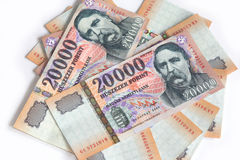 Hungarian forint Royalty Free Stock Image