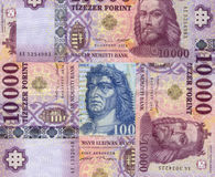 Hungarian forint stock photos