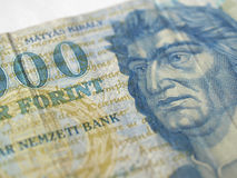 Hungarian forint banknotes Stock Image