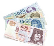 Hungarian Forint Banknotes Royalty Free Stock Image