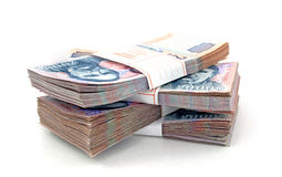 Hungarian Forint Bills Stock Photography