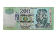 Hungarian Forint - HUF (200) Royalty Free Stock Images