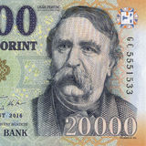 Hungarian forint Royalty Free Stock Photography