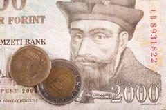 Hungarian forints royalty free stock photos