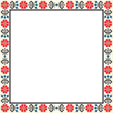 Hungarian frame Royalty Free Stock Photography