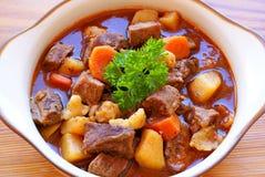 Hungarian goulash Stock Photos