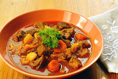 Hungarian goulash Royalty Free Stock Images