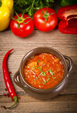 Hungarian goulash Royalty Free Stock Photography