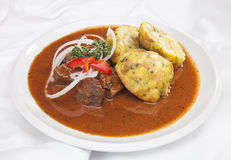 Hungarian goulash Royalty Free Stock Photos