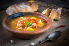 Hungarian goulash Stock Image