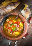 Hungarian goulash Stock Photography
