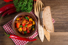 Hungarian goulash Stock Photos