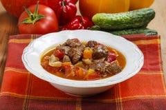 Hungarian goulash Stock Image
