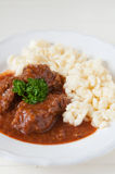 Hungarian Goulash soup Stock Photos