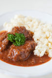 Hungarian Goulash soup Royalty Free Stock Photography
