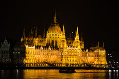 The Hungarian House of Parliament Stock Images